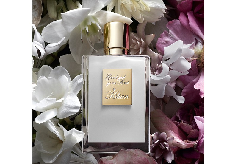 0072eb28701 The Uninhibited Good girl gone Bad by Kilian finds herself in a luscious  floral whirlwind in the garden of good and evil.